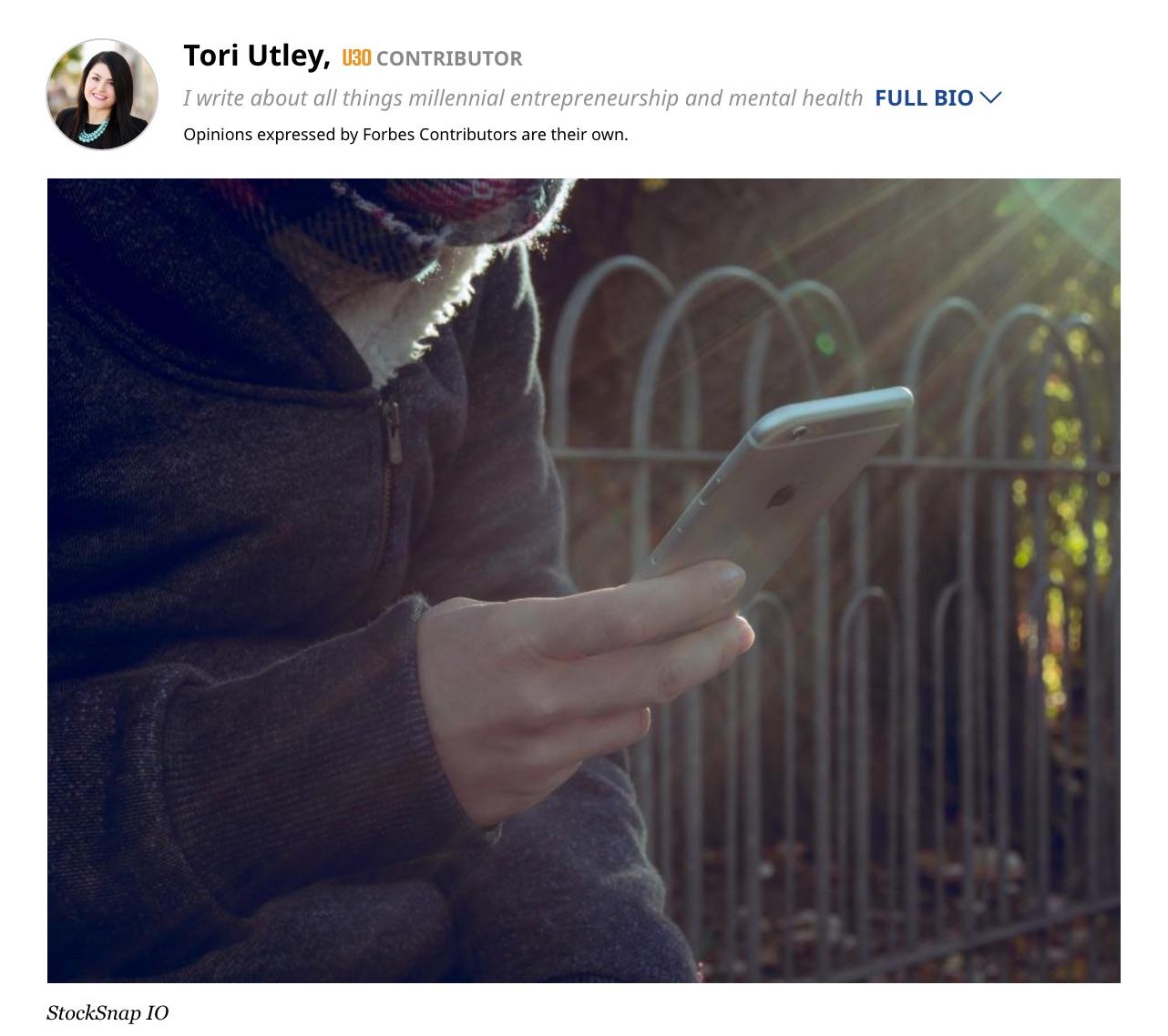Picking a Mental Health Mobile App